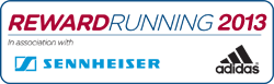 Reward Running 2013 logo